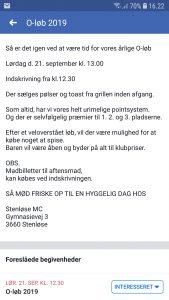 O-løb Stenløse MC @ Stenløse MC | Stenløse | Danmark