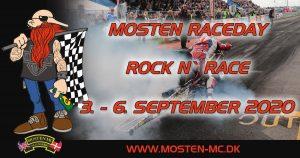 Aflyst Mosten Raceday 2020 @ Mosten MC | Ørsted | Danmark