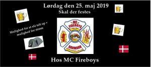 Fireboys 10års fødselsdagsfest