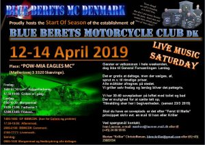 Blue Berets MC DK SOS (Start Of Season)