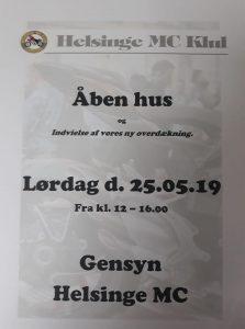 Åben hus Helsinge MC